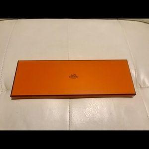 Hermes Classic Tie Gift Box